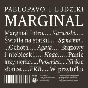 """Pablopavo i Ludziki - """"Marginal"""""""