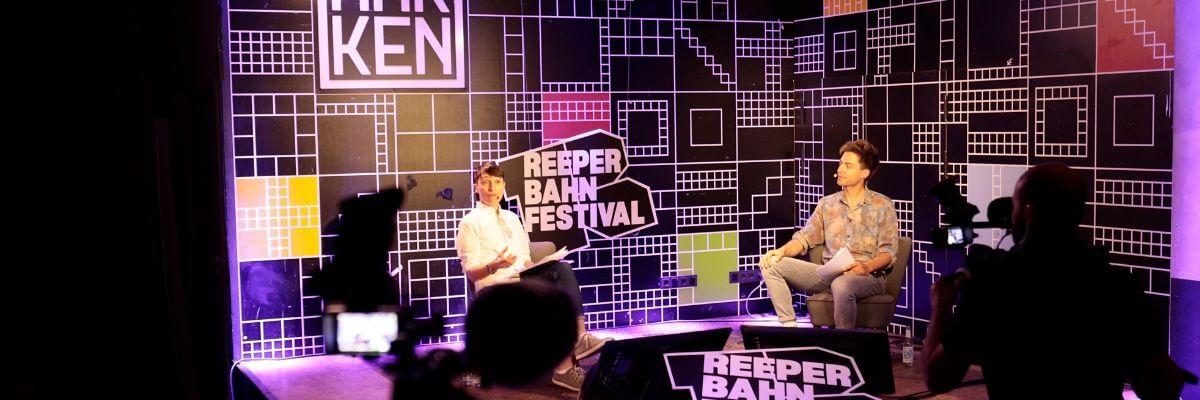 Reeperbahn Festival in New York 2020. Online meeting