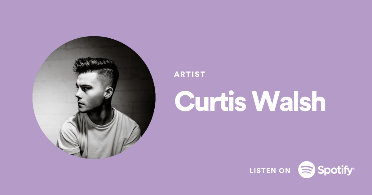 Spotify Promo Cards . Curtis Walsh